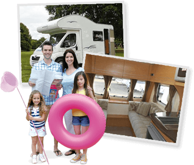 New to caravan and motorhome hire